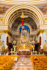The Miracle Church of Mosta, Malta