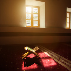 Quran in a mosque