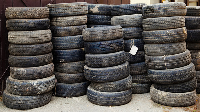 complex used tires for waste