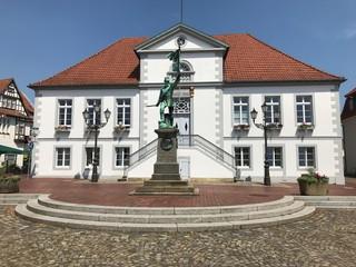 Rathaus in Quakenbrück (Niedersachsen)