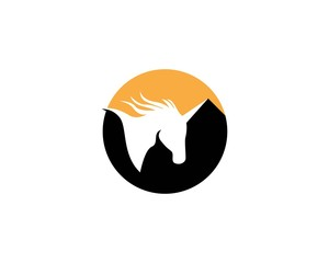Pegasus icon vector illustration