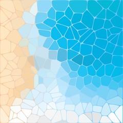 vector abstract background. imitation of the sea coast. Pebbles. - Vektorgrafik. eps 10