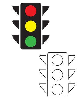 Object-Street Traffic Light