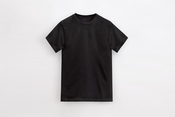 Solid Basic T-Shirt black Man unbranded