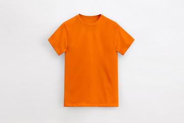 Un-branded Royal orange t-shirt man