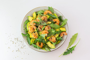 seafood salad as a Mediterranean dish
