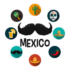 Mexican culture design