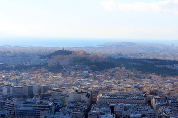 city view of Athens, Greece