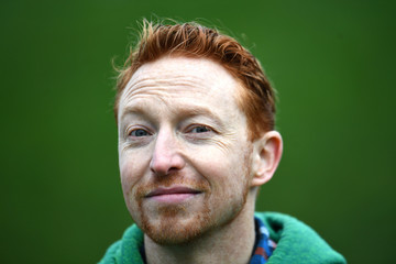 Founder of 'Kiss a Ginger Day' Derek Forgie from Toronto, Canada poses for a photograph on the 10-year anniversary of this anti-bullying day, in Dublin