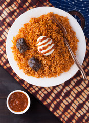 West Africa Rice Jollof Entree