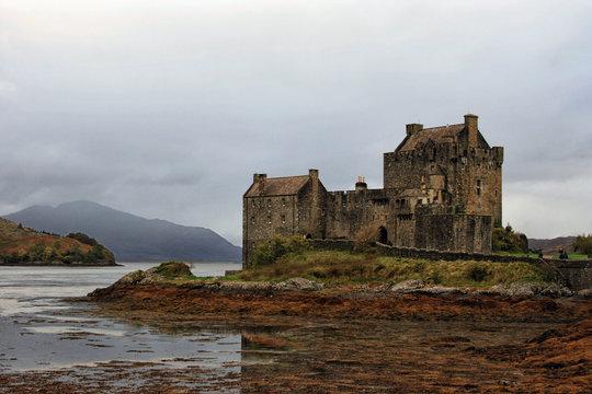 Eilean Donan Castle on Loch Alsh, Scottish Highlands