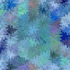 elegant blured light blue background for card or banner