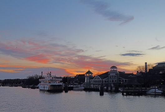 Boats and waterfront of Alexandria, Virginia