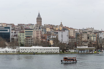 View of Galata tower, Istanbul