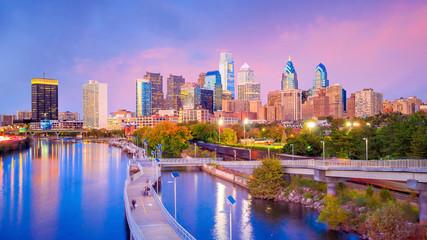 Fotomurales - Downtown Skyline of Philadelphia