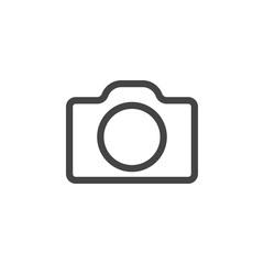 Camera icon graphic design template vector
