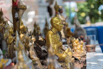 Buddha statue in buddhist temple Wat Lo Sutthawat