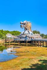 Abandoned water park in Hue, Vietnam