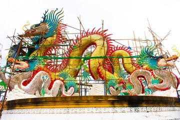 Nakhon sawan festival,lamp,hanging lamp,king lght ,Chinese New Year, Chinese New Year activities, dragon,dragon dance , The Chinese dragon Nakhon Sawan  thailand., Guanyin.