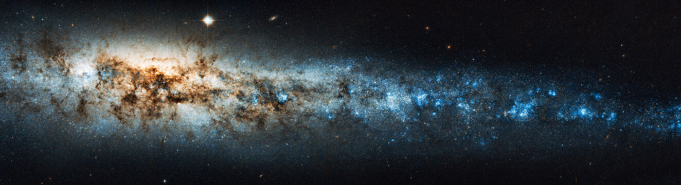The beauty of the universe: Huge and detailed panorama of the Whale Galaxy