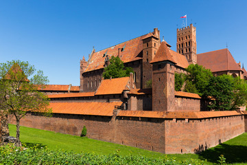 Castle of Teutonic Order in Malbork, Poland