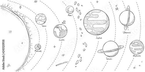 Vector Sketch Illustration