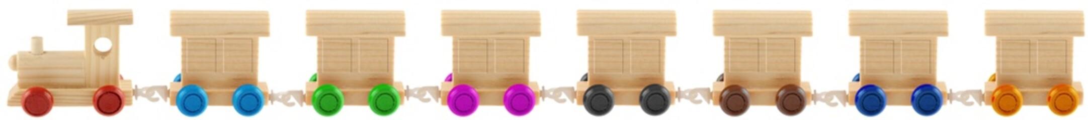 train roues couleurs stores baissés