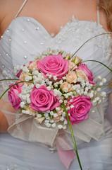Bride and Wedding bouquet