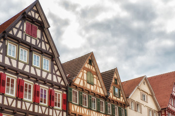 Timbered Houses in Calw, Germany