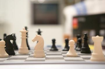 Schach Spiel Nahaufnahme