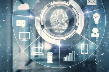 Biometrics and id concept