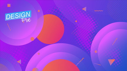 Vector minimal background. Digital modern page concept. Colorful posters, placards, brochures, banner, wallpaper.
