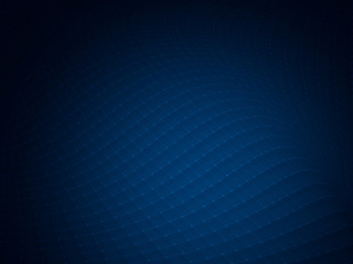 Abstract blue wave technology banner design
