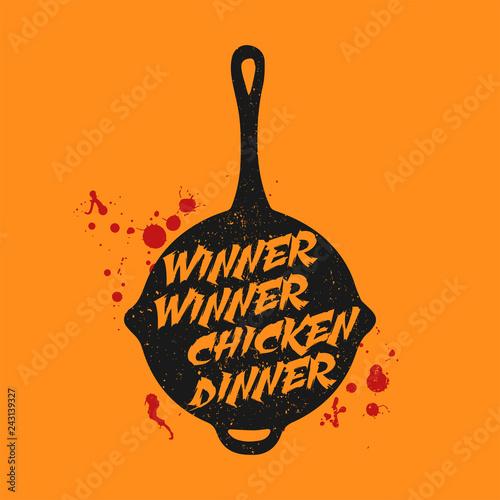 Playerunknown S Battleground Pubg Slogan Winner Winner Chicken