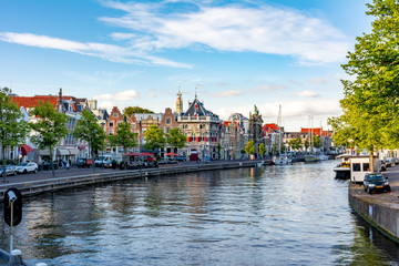 Haarlem canals and architecture, Netherlands