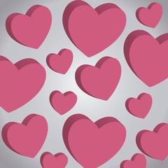 valentines day card pattern