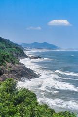 Hai Van Pass (Phu Tho) famous road scenic view, Vietnam