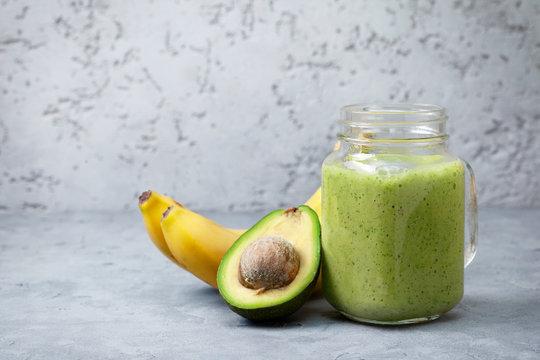smoothies avocado banana