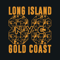 New York, typography, t-shirts