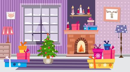 Christmas interior3