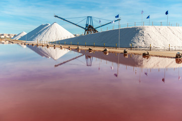 Sea salt industry