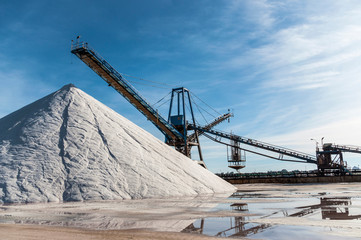 Marine salt industry