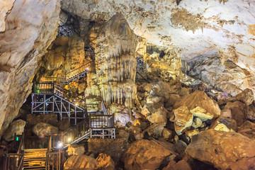 Thien Duong Cave. Vietnam