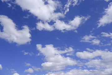 cloud and blue sky background- image.