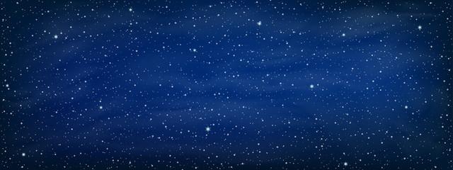 Starry space background - vector Fotoväggar
