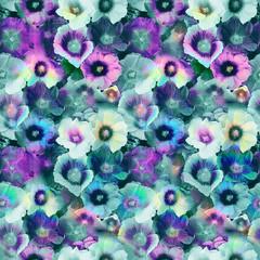 Floral print in multicolor.