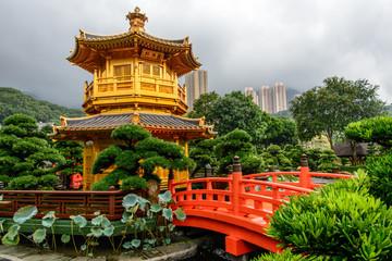 Temple du jardin Nan Lian à Hong kong