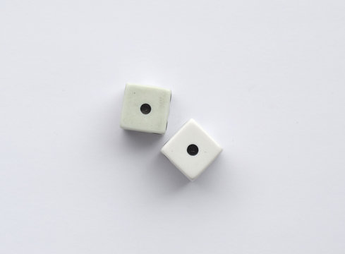 Two identical dice