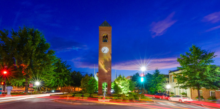 Downtown Spartanburg South Carolina SC