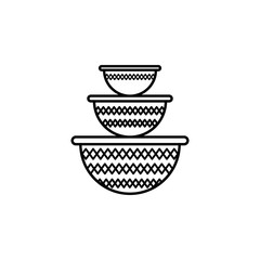 food container, plastic container, kitchenware icon. Element of kitchen utensils icon for mobile concept and web apps. Detailed food container, plastic container, kitchenware icon